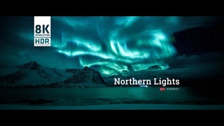 Northern Lights - Norway 21:9 8k HDR