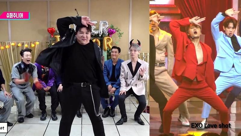 슈퍼주니어 개막장 랜덤플레이댄스 We have 신동 원곡비교영상