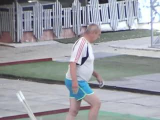 Еврогородки 2020 Финал Поляков В-Тихомиров В. 3-4 м Елисеев А- Ремизов А