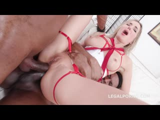 Double Anal Creampie with Polina Maxim, Balls Deep Anal, DAP, Gapes and Swallow GIO1418 (1080p)