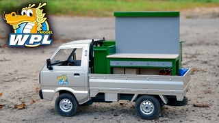 Первый в России! WPL D12 - Suzuki Carry ST90 Pickup