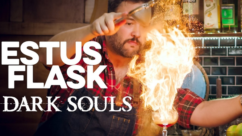 Estus Flask from Dark Souls How to Drink