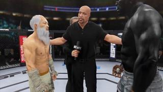 Old Bruce Lee vs. King Kong - EA Sports UFC 4 - Epic Fight 🦍🔥🐲