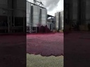 BLOWOUT: Huge 50,000-Litre wine tank ruptured at the Bodegas Vitivinos Winery in Spain.