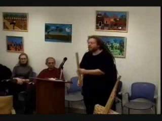 Jaron Lanier plays 7000 year old instruments.