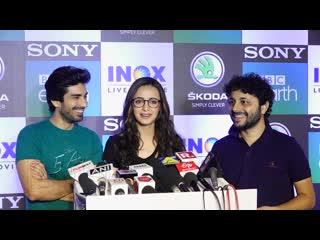 Sanaya Irani And Mohit Sehgal FUNNY iNTERVIEW At Dynasties Wid Life Movie Screening
