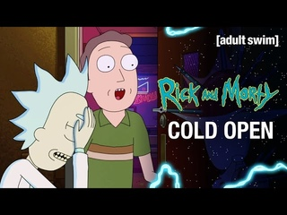 Rick and Morty | S5E5 Cold Open: It's Guys Night | adult swim