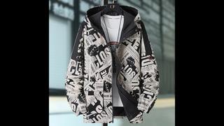 Прямая поставка 2020 повседневные мужские куртки осенние пальто с капюшоном мужская верхняя одежда комбинированная куртка