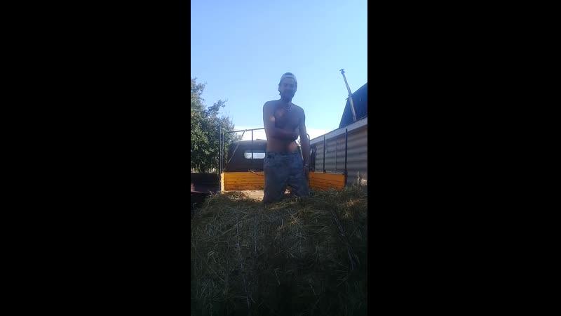Уаз фермер сено в рулонах