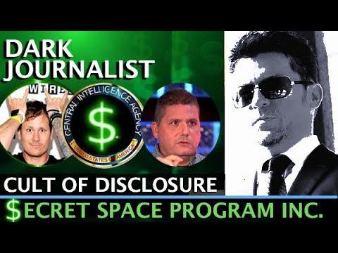 DARK JOURNALIST SPECIAL SECRET SPACE PROGRAM CIA DISCLOSURE CULT GUEST WALTER BOSLEY