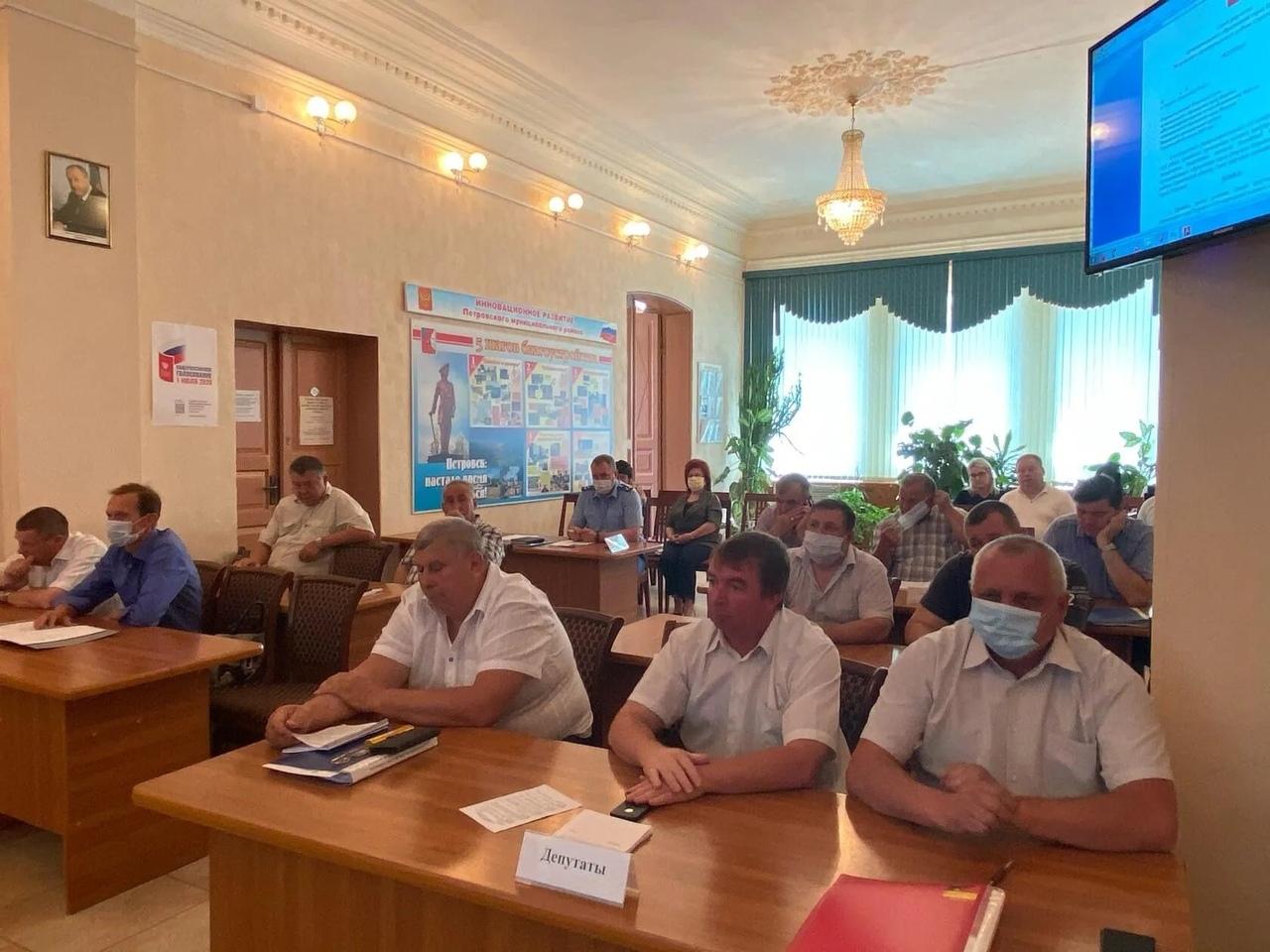 Сегодня состоялось очередное заседание депутатского корпуса городского Совета
