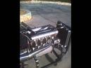 Offenhauser Midget Offy Engine Start Up No Muffler
