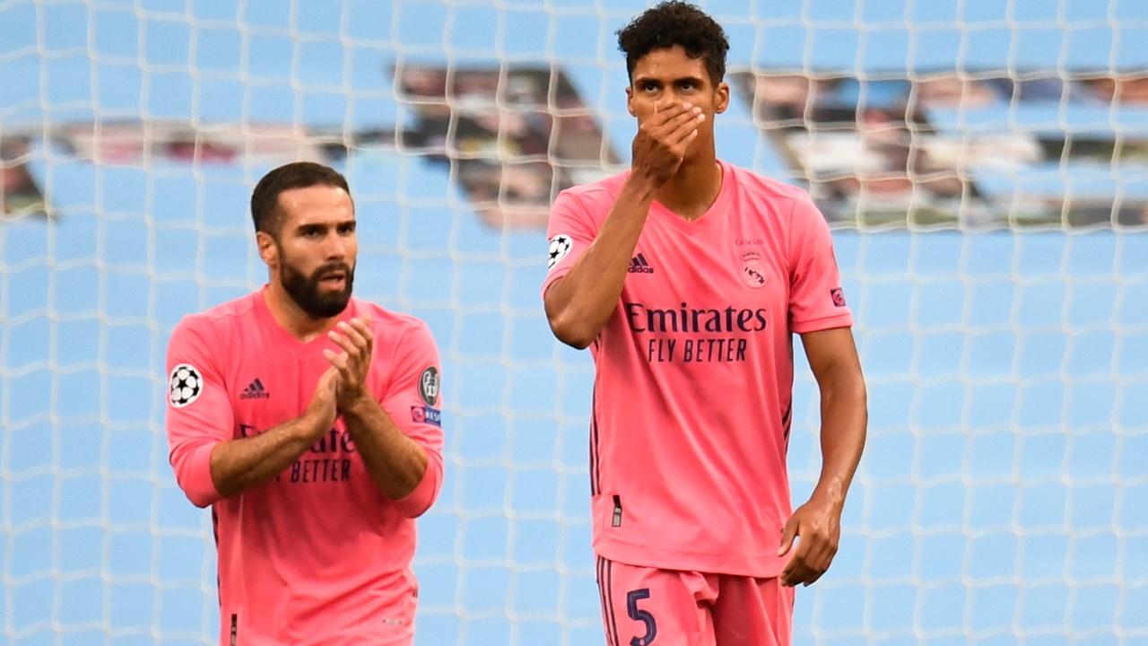 Манчестер Сити - Реал Мадрид, 2:1. 1/8 Лиги чемпионов 2019/20. Карвахаль и Варан
