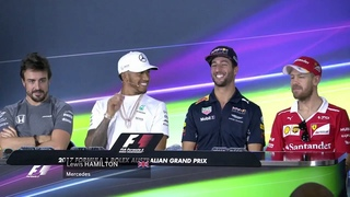 F1 2017 - Press Conference - Alonso: Equal engines for everyone!