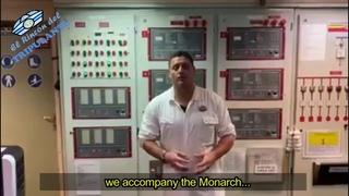 Monarch Pullmantur, apagando todos sus sistemas. Jefe de Maquinas