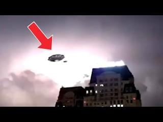 Wow! Huge UFO caught on TV camera in Hanoi Vietnam