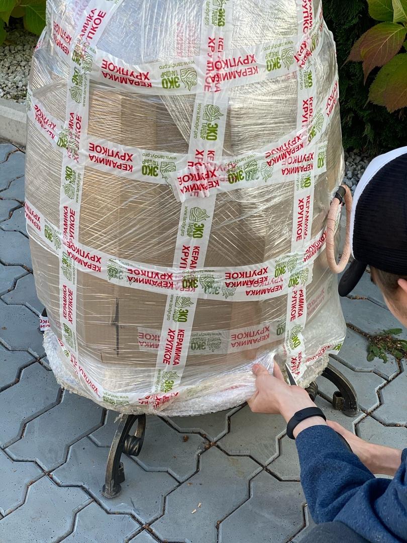 Подробный осмотр упаковки ЭкоТандыра