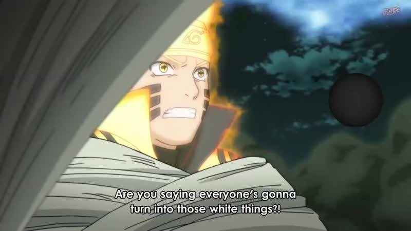 Madara Uchiha Transforms Into Kaguya Naruto And Sasuke vs Kaguya English sub