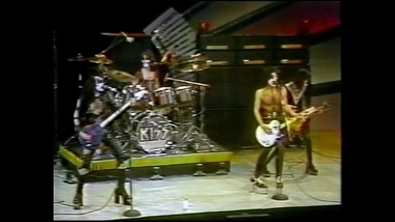 KISS Midnight Special 4 1 75 TV complete appearence
