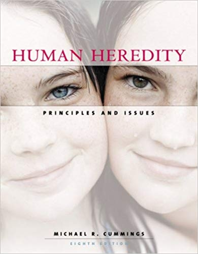 6424.Human Heredity Principles and Issues by Michael R. Cummings
