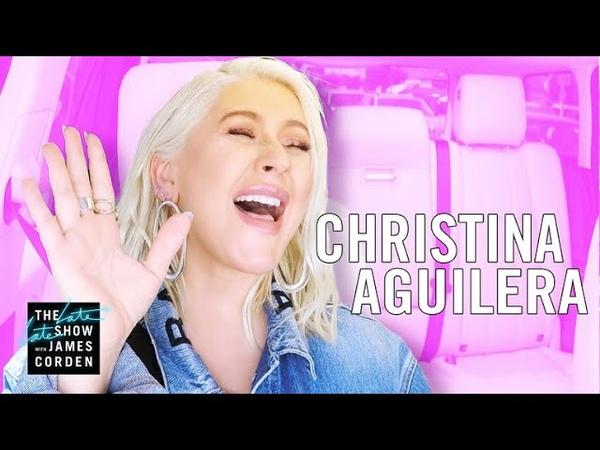 Christina Aguilera Carpool Karaoke Extended Cut