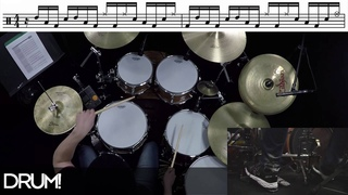 "Groove Analysis: Deftones Abe Cunningham ""Xenon"""