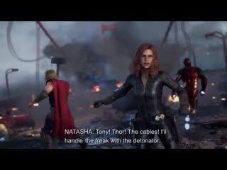 Marvel's avengers black widow gameplay