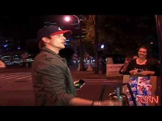 CNN 'Punk'd' by Ashton Kutcher