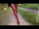 DANA LABO brown boots overknee part 4