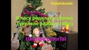 В лесу родилась елочка Укулеле разбор табы ukulele tutotial