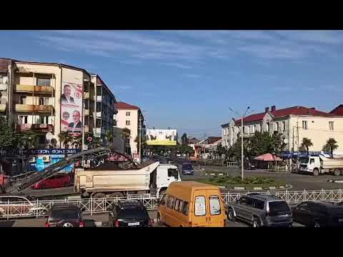 14 10 2020 привокзальная площадь Кобулети Видео Артур Мартиросян Аджария Грузия