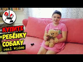 После шести химиотерапий девочка мечтает о Бишпу. Real video