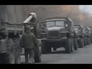 В Снежном и Макеевке зафиксировано передвижение колонны машин с тяжелой артиллерией