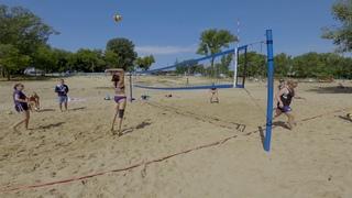 тренировка пляжный волейбол