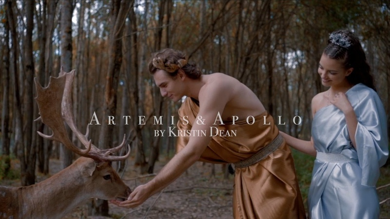 Artemis and Apollo by Kristin Dean cinematic video The Olympian Gods 4k