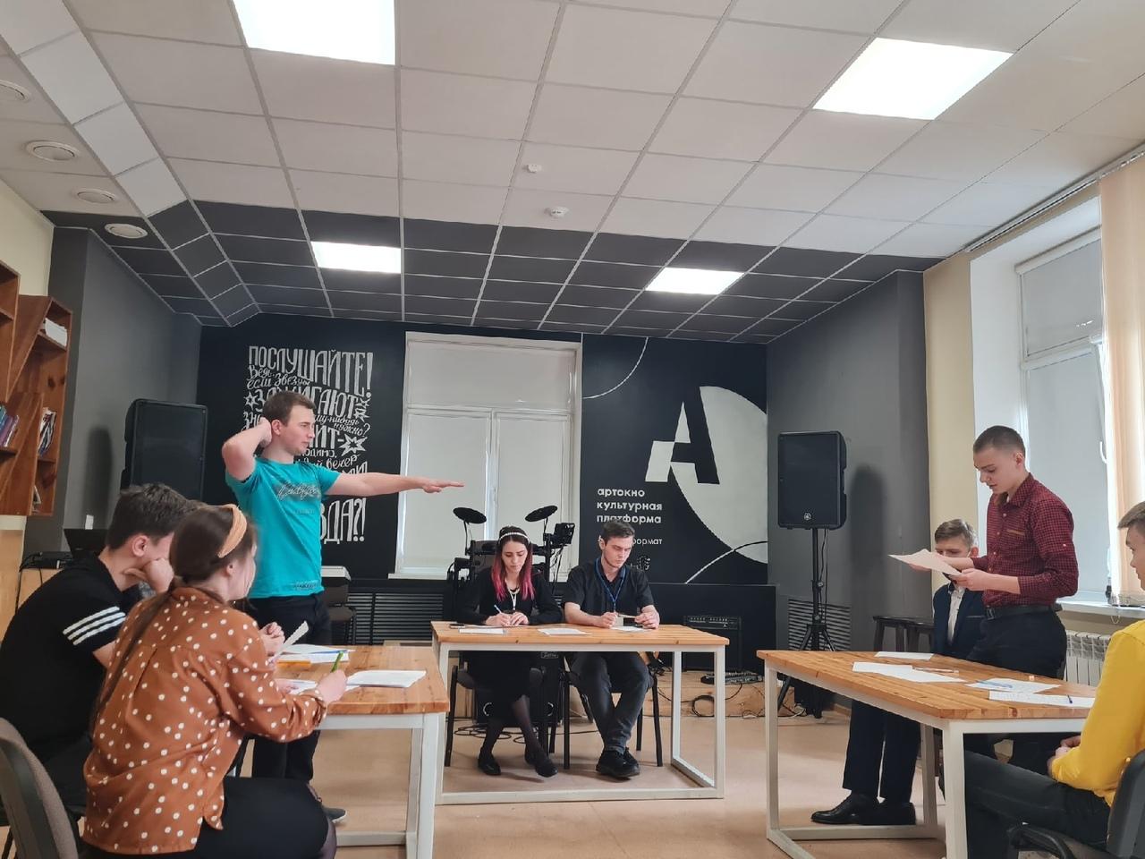 Муниципальный этап областного чемпионата «Дебаты.2021.Студ-лига»