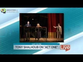 Tony Shalhoub on Act One NBC New York