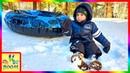 Катаемся на Тюбах и Играем в Снежки в Big Bear Lake California
