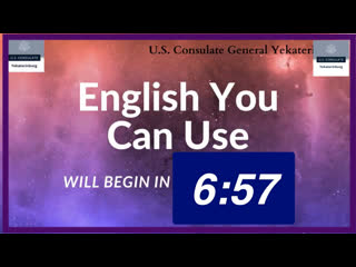 English You Can Use Lesson No. 10