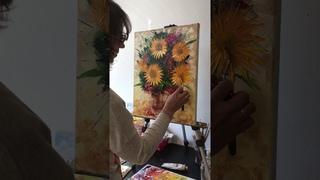 Мастер-класс по живописи маслом в школе Z-ArtSchool