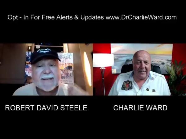 Charlie Ward GODS AGENT ROBERT DAVID STEELE WITH CHARLIE WARD