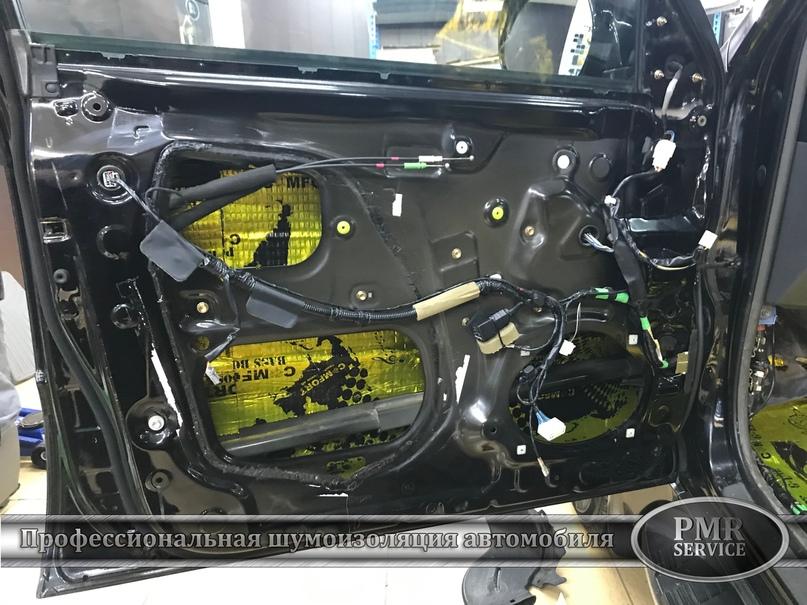 Комплексная шумоизоляция Toyota Land Cruiser 120, изображение №5