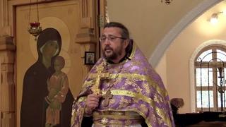 Проповедь на Похвалу Пресвятой Богородицы, в Субботу Акафиста. Священник Игорь Сильченков