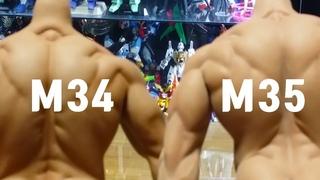 Phicen,TB League,M34body,m35body,TB League,Phicen M35 Seamless Body Review