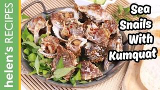 Sea Snails With Kumquat Sauce - Ốc Sốt Tắc | Helen's Recipes