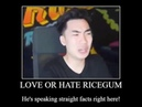 Love or hate ricegum He's speaking straight facts right here Chinese ricegum meme