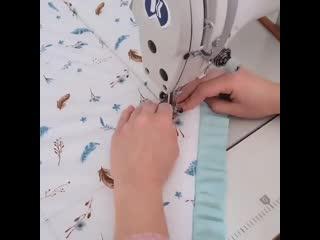 Новый бесплатный мастер класс.✂️Мода в детском текстиле...😉 тоже диктует свои правила.☝⠀Самыми трендовыми сейчас являются из