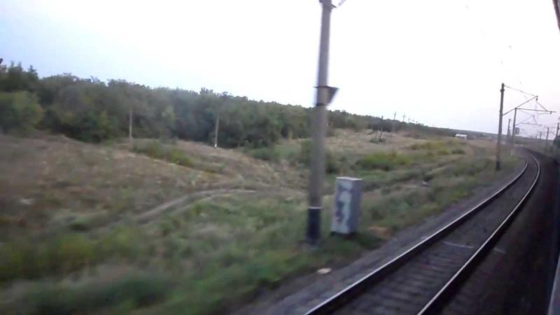 [УЗ2013] ст.Колосовка Отправление Depart from the station Kolosovka