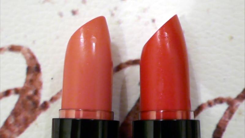 Кремовая губная помада OnColour Flirty, Нюдовый Пион - 39917, Красный Лепесток - 39917