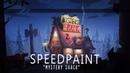 Gravity Falls Mystery shack Fanart Speedpaint